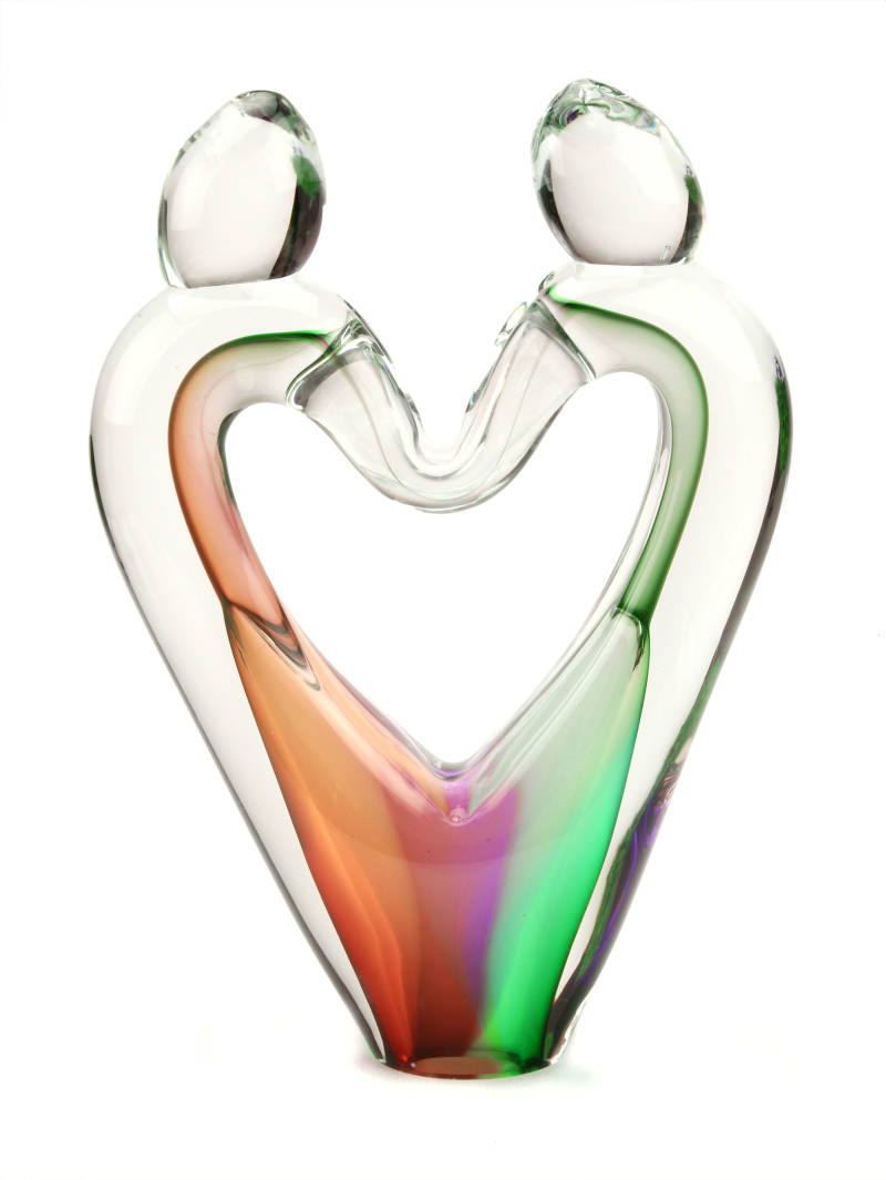 Liefde Love U34 Multicolor | Glas | As-urn-ornament