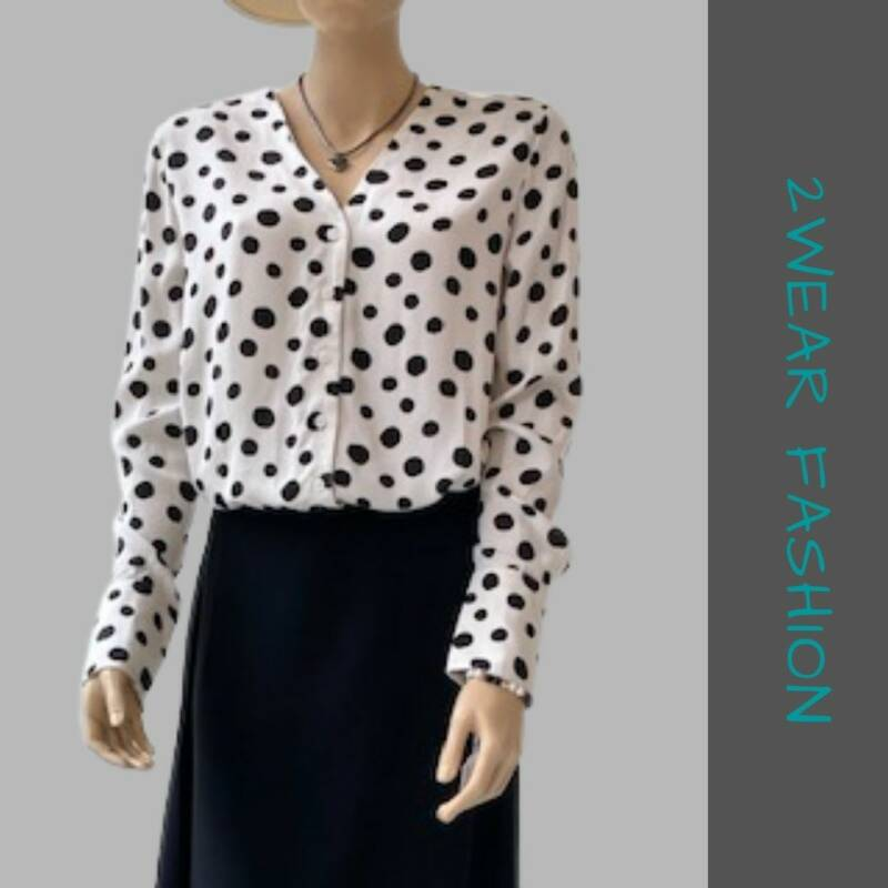 BLOUSE DOTS | MARCH EUROPE