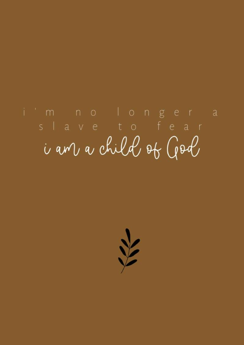 I am a child of God, oker