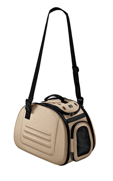 Hunter Carrier LUXUS  beige Hondendraagtas