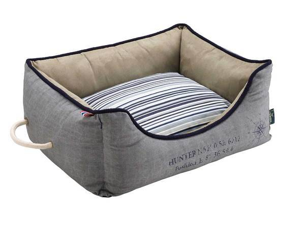 Hunter Dog sofa List  grijs
