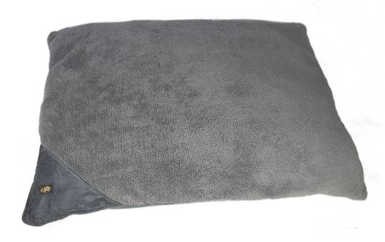 AFP Lambswool-Classic Pillow Bed Grijs