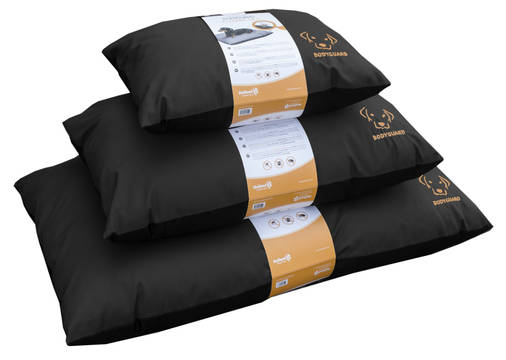 Bodyguard Elegant Pillow Black