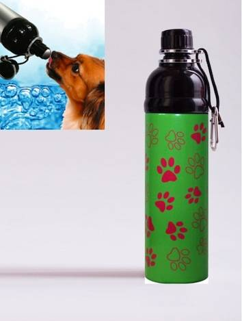 Green Paws Drinkfles, 750 ml