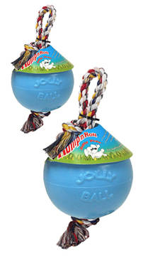 Jolly Ball Romp-n-Roll Baby Blauw