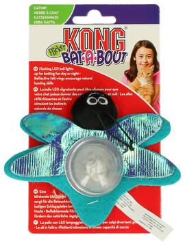 Kong Cat Bat-a-Bout Flicker Firefly