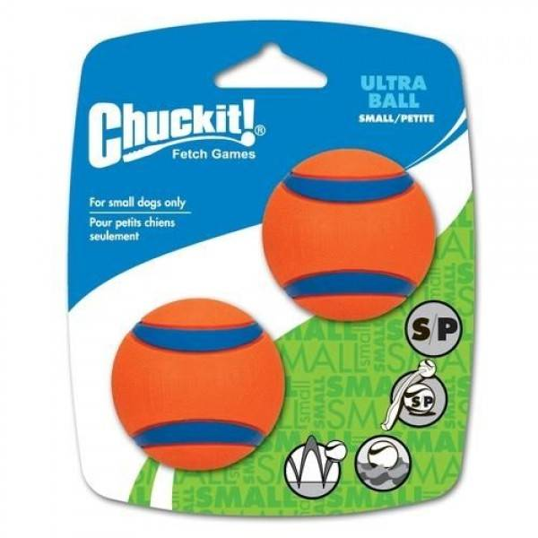 Ultra Ball, 2-pack Chuckit! Maat S