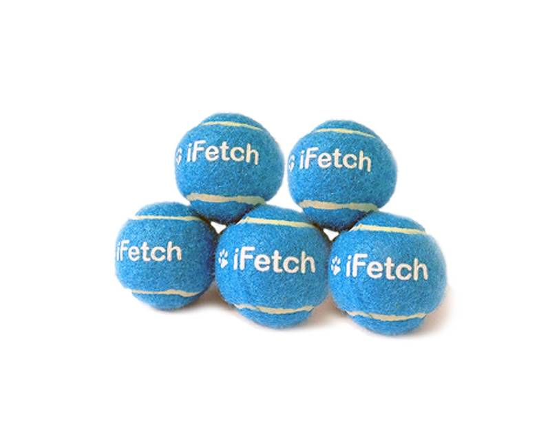 iFetch en  Doggy Fun reserve ballen 2-pack