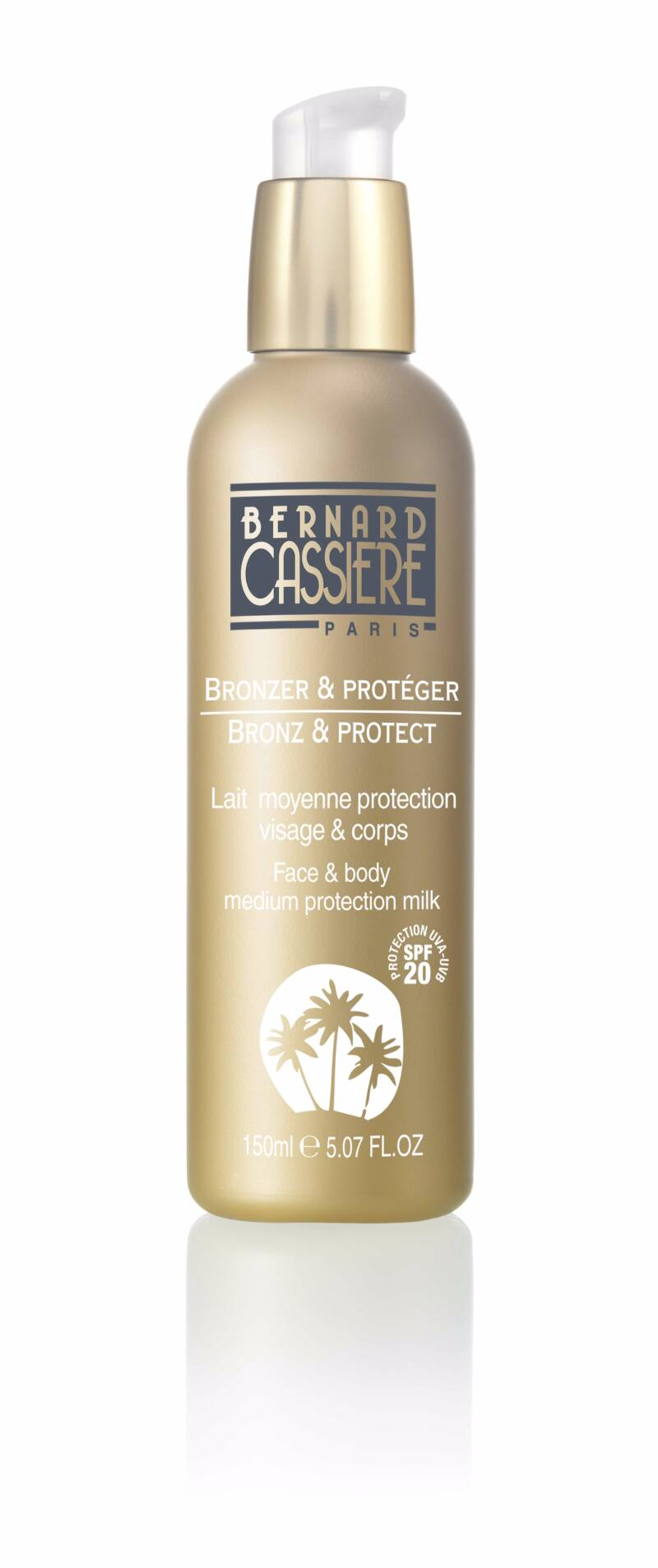 Lait moyenne protection visage & corps spf 20