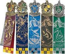 Harry Potter set of 5 Bookmarks - The Noble Collection