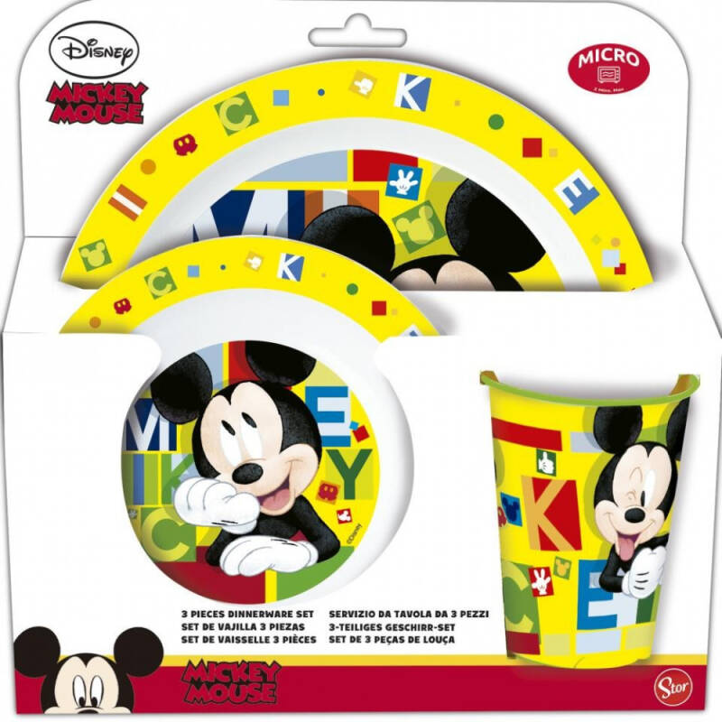 Mickey Mouse - Dinner Set
