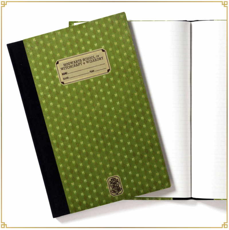 Harry Potter - 1910 Slytherin Replica Exercise Book - MinaLima