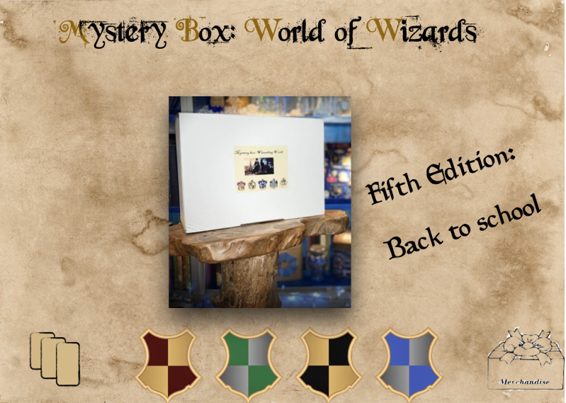 Mystery Box 5 :  August - Back To School Box