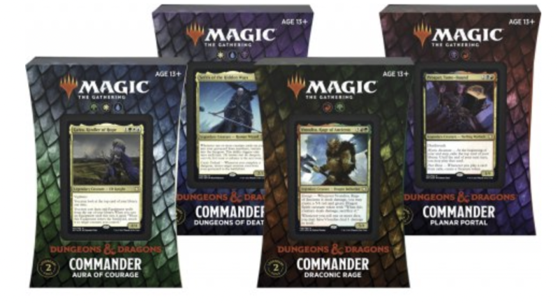 Adventures in the Forgotten Realms - Commander Set (4Pc)- English