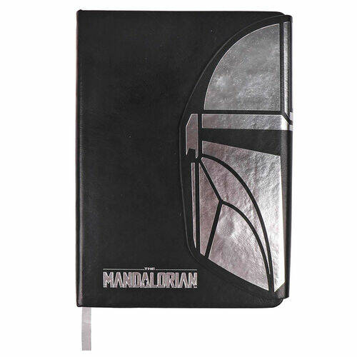 The Mandalorian A5 Faux-Leather Notebook