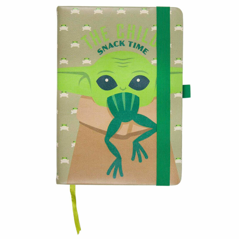 The Mandalorian The Child A5 Faux-Leather Notebook