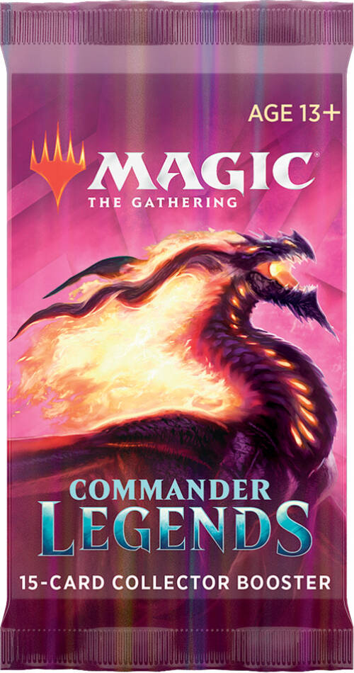 Commander Legends- Collector Booster- English