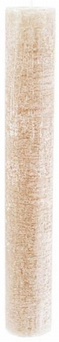 Dinner Candle XL | Taupe