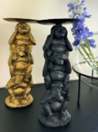 Three Monkeys Candle Holder