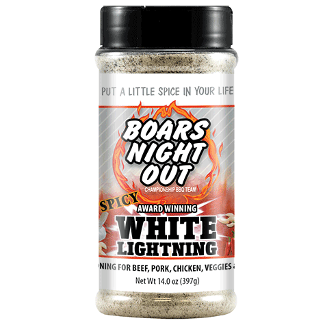 Spicy White Lightning   Boars Night Out