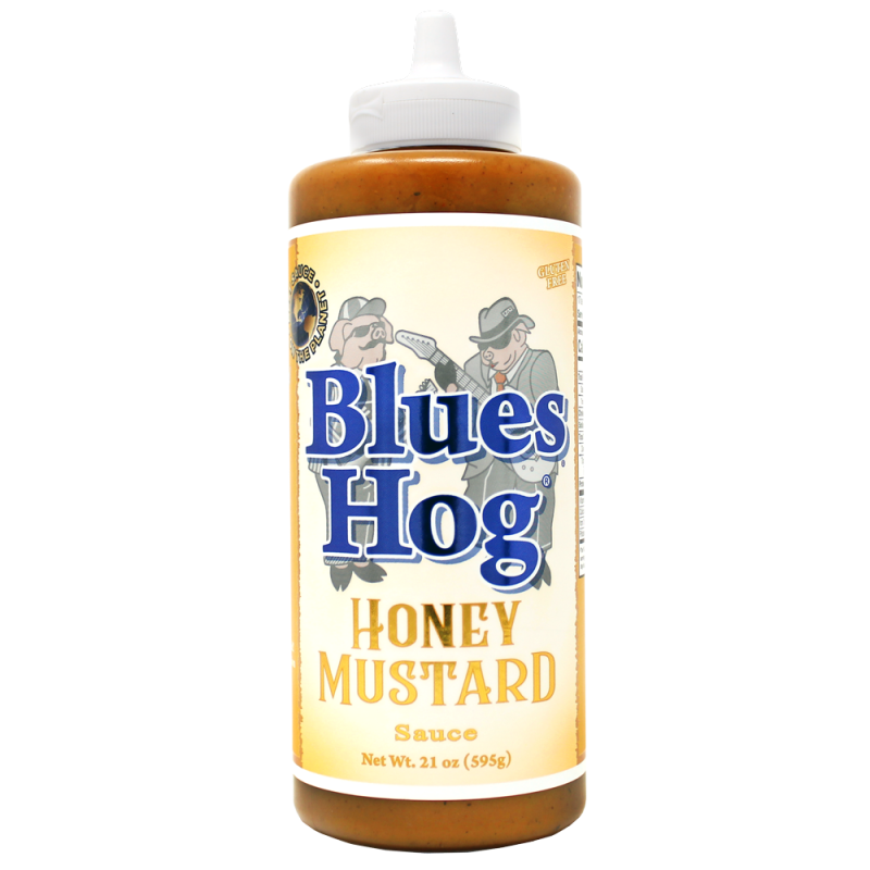 Blues Hog Honey Mustard saus Squeeze 620ml