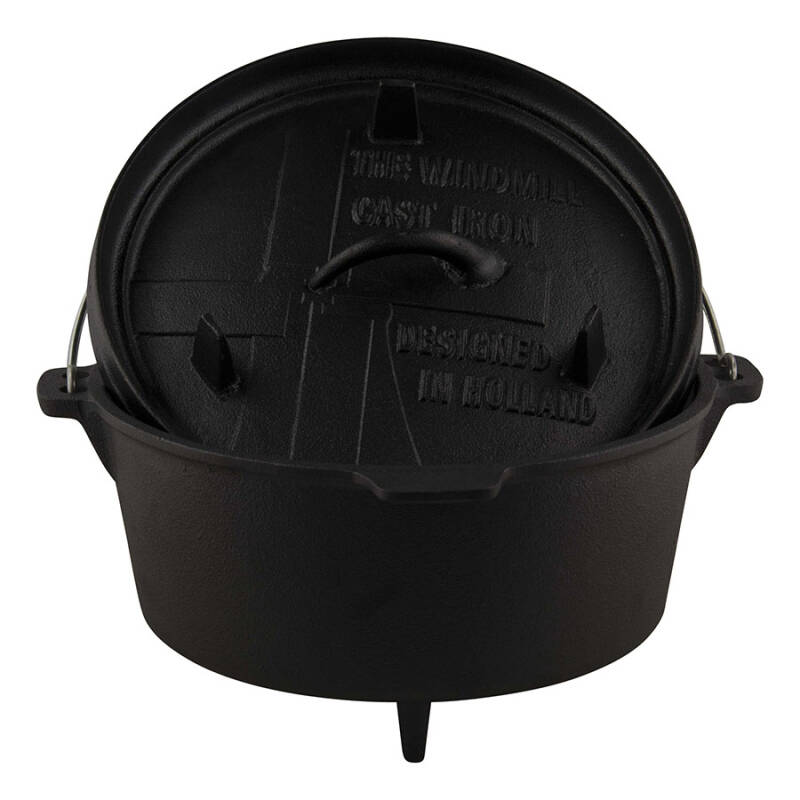 The Windmill Dutch Oven 4.5 quarts