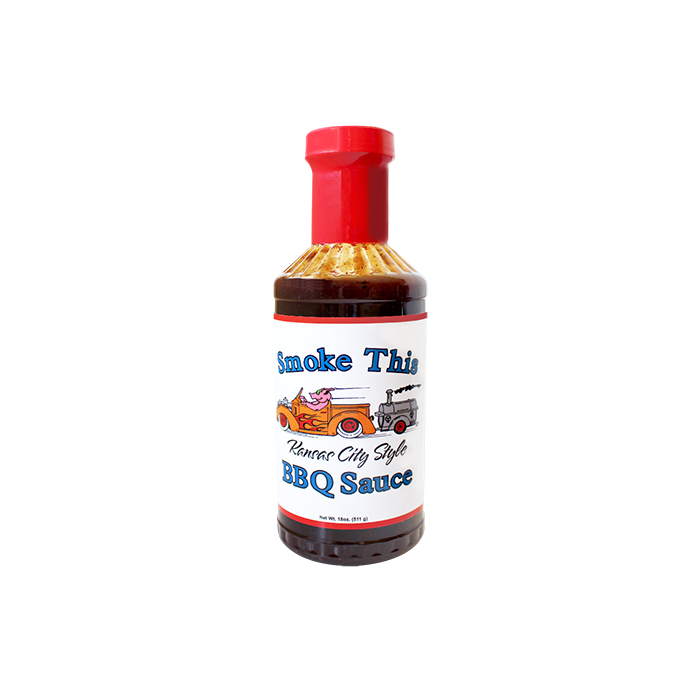 Smoke This Kansas City style bbq saus 530ml