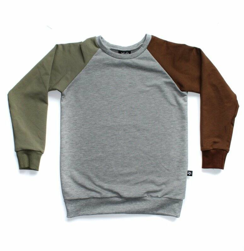COLOUR COMBI - SWEATER