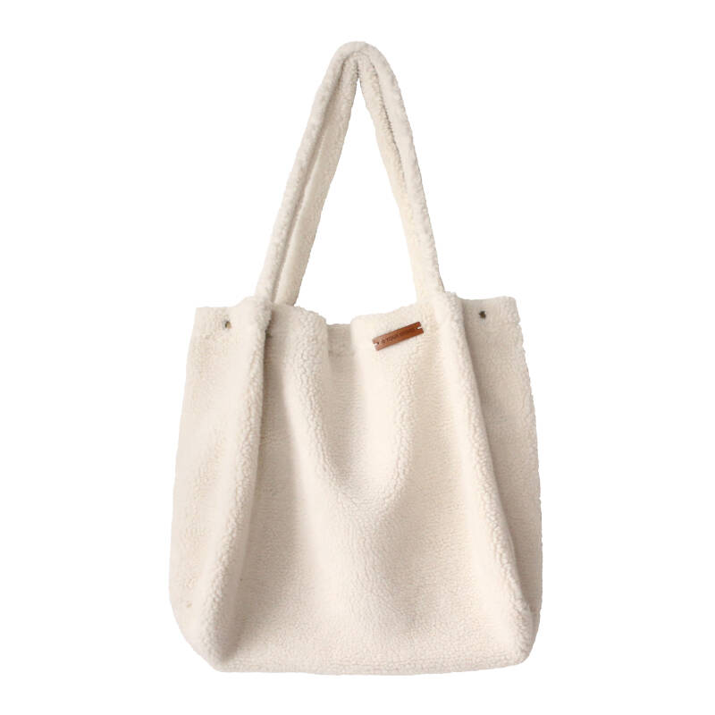 TEDDY OFF WHITE - MOMMY TOTE BAG