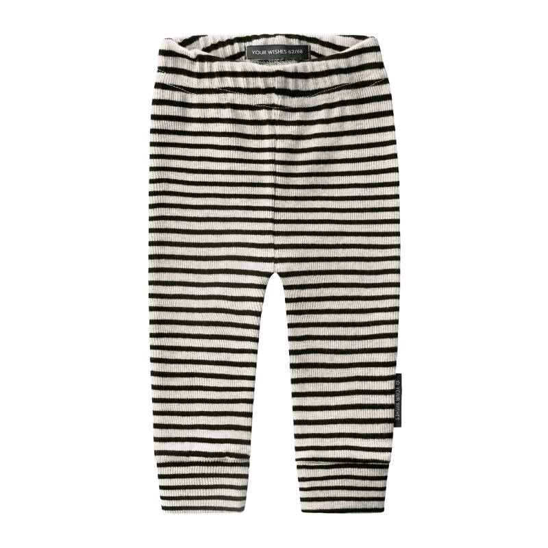 BEIGE STRIPES - FITTED PANTS