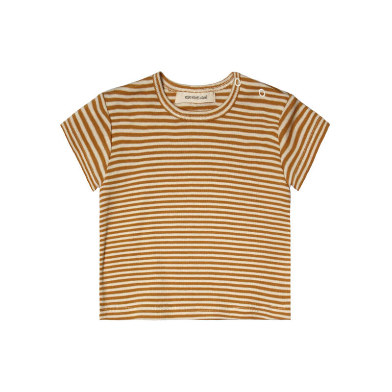GOLD STRIPES - LOOSE TEE
