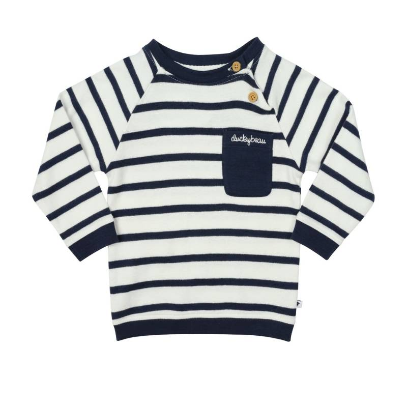 NAVY STRIPE - SWEATER