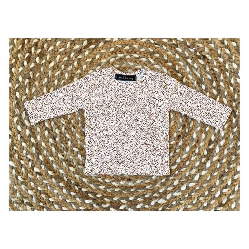 LONGSLEEVE - BROWN DOTS