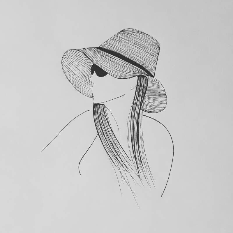 Woman with a Hat 1