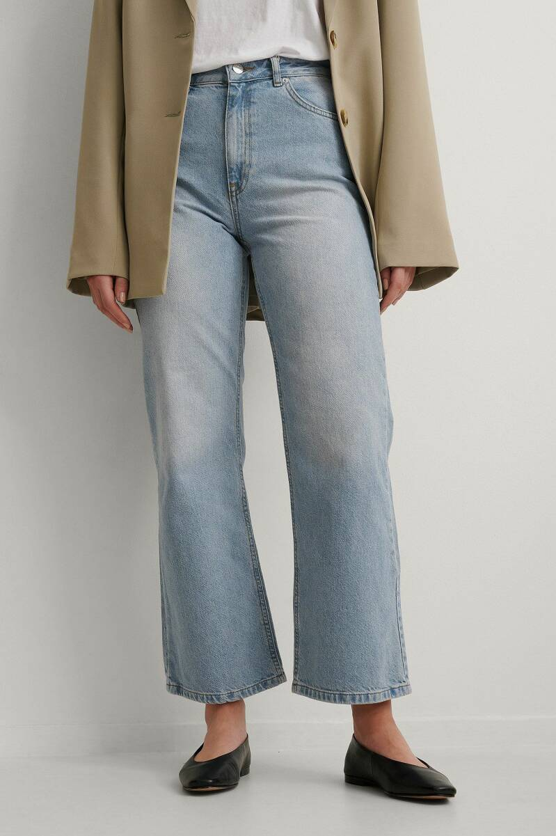 NA Highwaist Relaxed Jeans NC