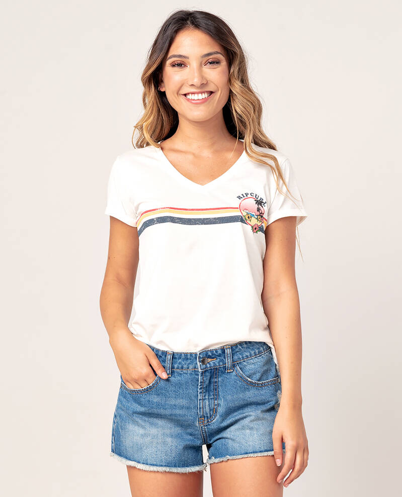 Golden State V Neck Tee Rip Curl