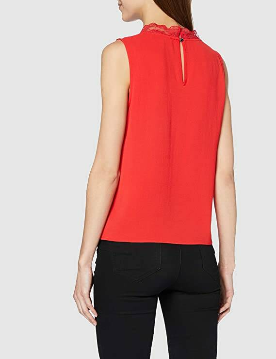 Morgan Blouse Red 201-OCLAIRE.N