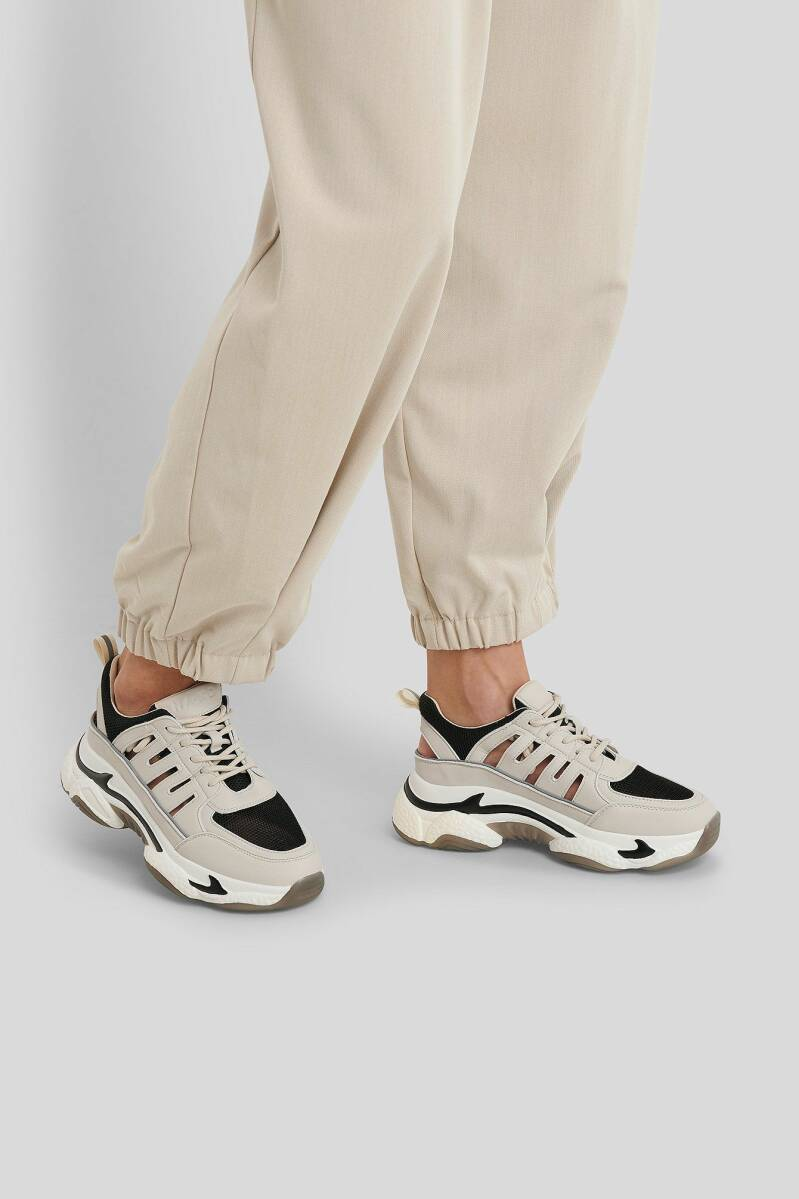 NA-KD Cut Out Chunky Trainers