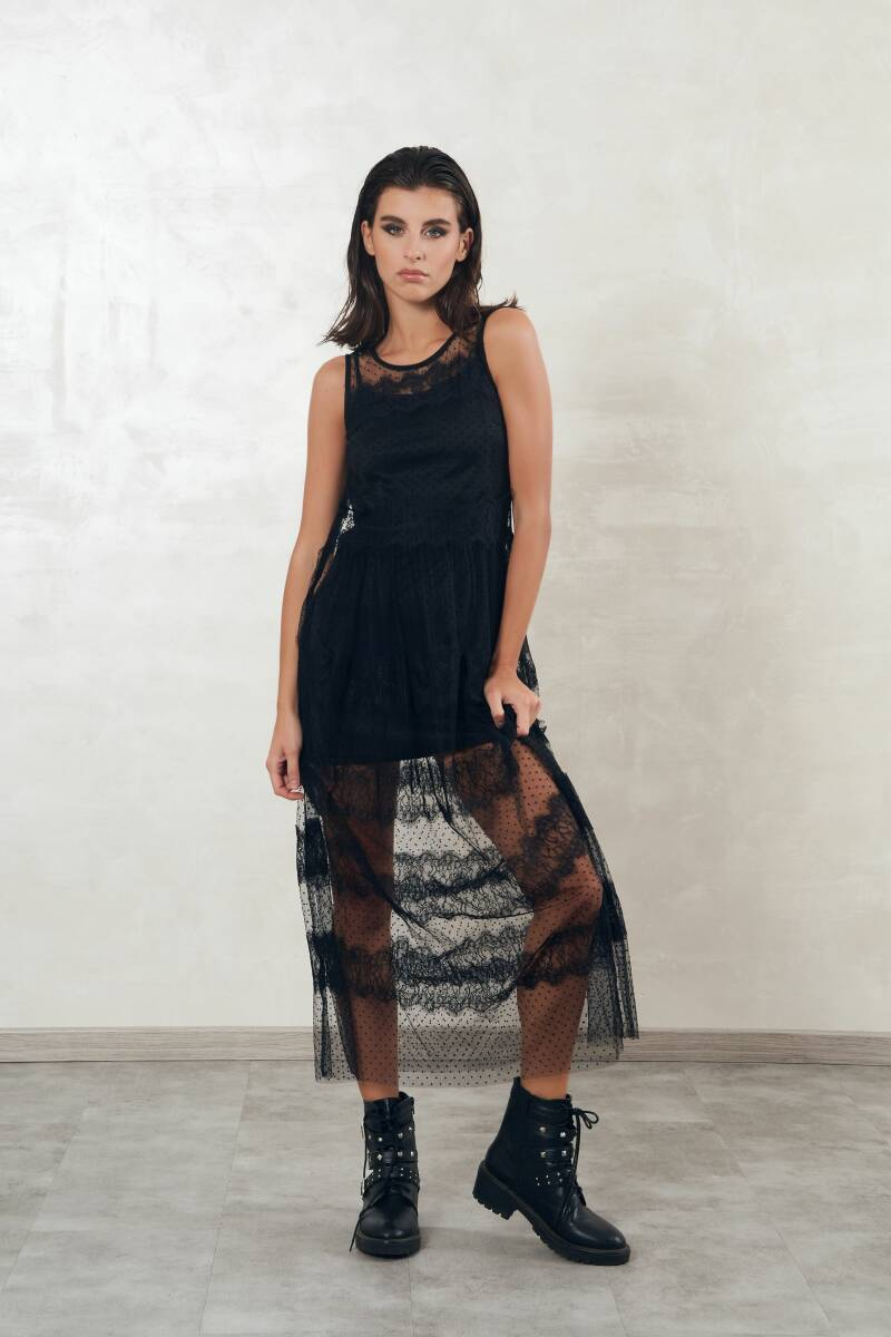 New Arrival  Style Transparent Dress Influencer