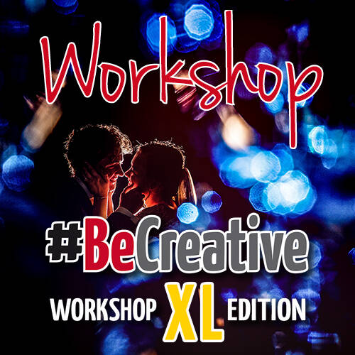 #BeCreative XL Workshop Flitstechniek - Creatief licht - Light-Art