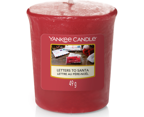 Yankee Candle - Letters to Santa - votive