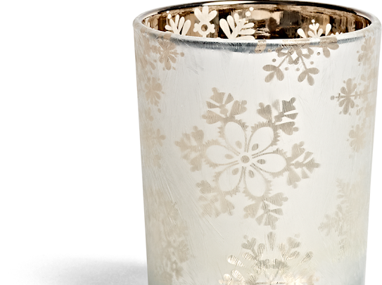 Yankee Candle - Snowflake Frost Small Votive Holder