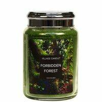 Village Candle - Forbidden Forest - Large jar
