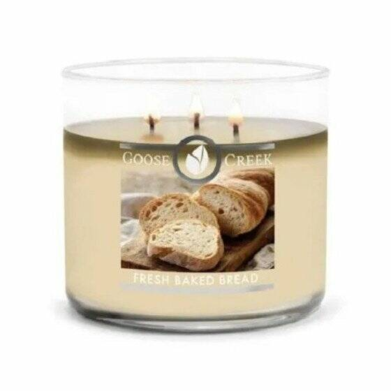 Goose Creek Candle - Fresh Baked Bread - 3wick Tumbler