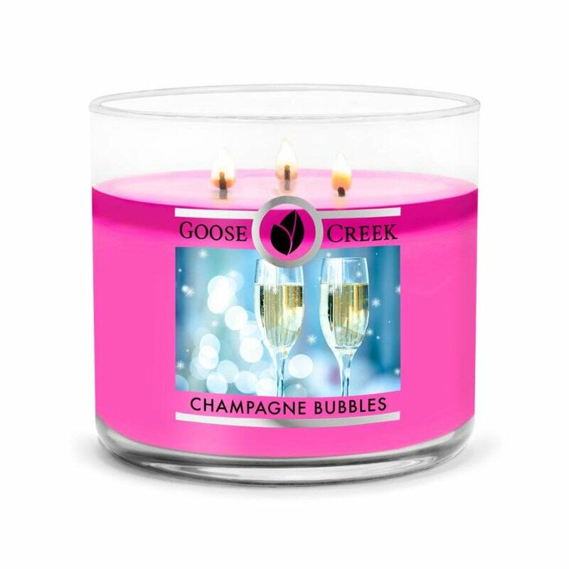 Goose Creek Candle - Champagne Bubbles - 3 wick Tumbler