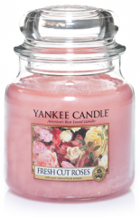 Yankee Candle - Fresh Cut Roses - Medium jar