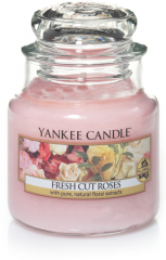 Yankee Candle - Fresh Cut Roses - Small jar