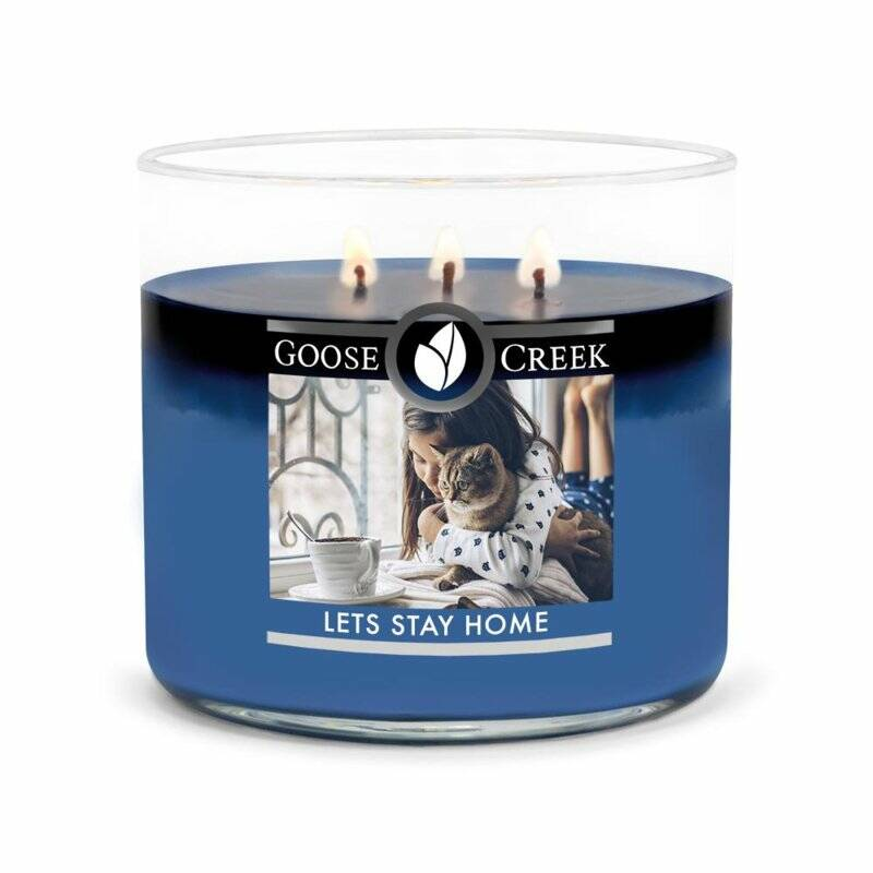 Goose Creek Candle - Let's Stay Home - 3 wick Tumbler