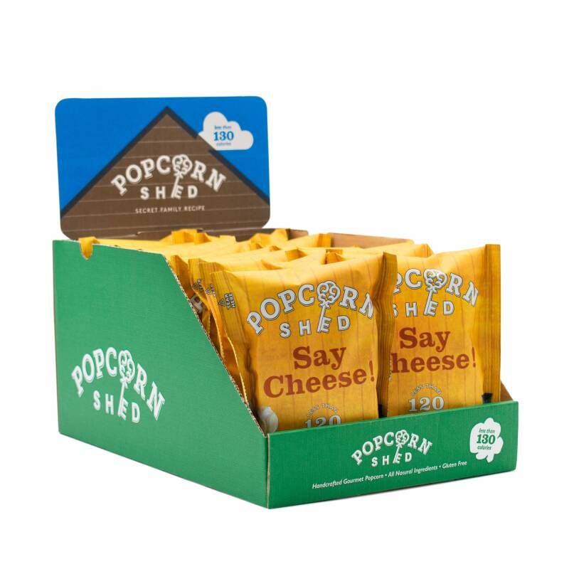 Popcorn Shed - Say Cheese