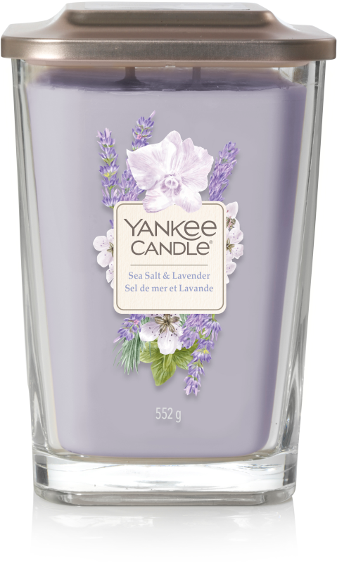 Yankee Candle - Sea Salt & Lavender - Large Vessel